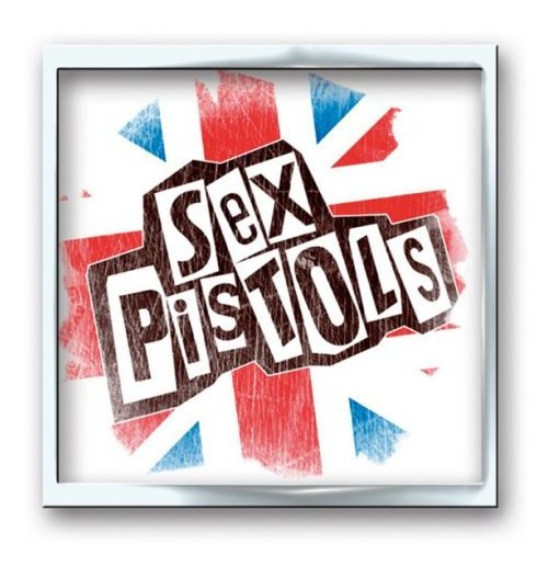 Brosche Sex Pistols  - Union Jack Metal Button Badge