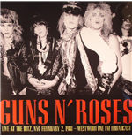 Vinyl Guns N' Roses - It's So Easy: Live At The Ritz 1988 Fm Broadcast