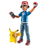 Pokemon Actionfiguren Doppelpack Ash & Pikachu