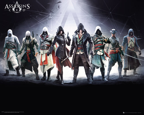 Poster Assassins Creed Characters