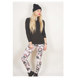 Leggings Guns N' Roses  Fashion: Skull & Roses