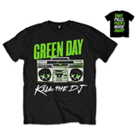 T-Shirt Green Day Back Print:  Kill the DJ für Männer