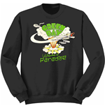 Sweatshirt Green Day Youth's: Welcome to Paradise