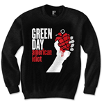 Sweatshirt Green Day  American Idiot