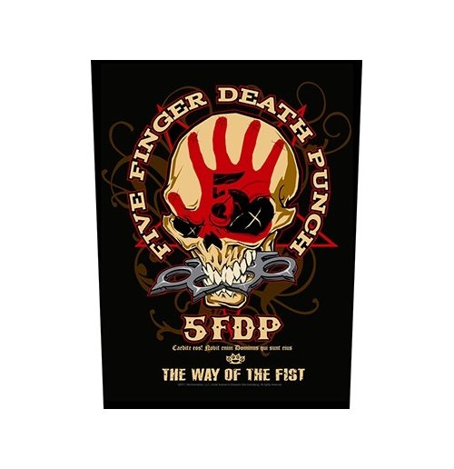 Aufnäher Five Finger Death Punch  -  Way Of The Fist