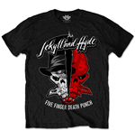 T-Shirt Five Finger Death Punch: Jekyll & Hyde für Männer