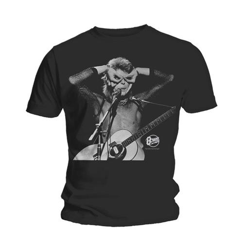 T-Shirt David Bowie Acoustics