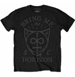 Bring Me The Horizon  T-Shirt für Männer - Design: Hand Drawn Shield