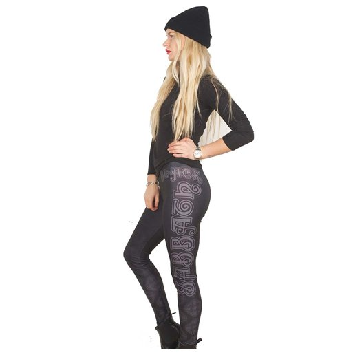 Black Sabbath  Leggings für Frauen - Design: Celtic Logo
