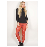 Avenged Sevenfold Leggings für Frauen - Design: Death Bat