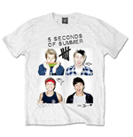 T-Shirt 5 seconds of summer 186006
