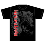 T-Shirt Iron Maiden Hi Contrast Trooper