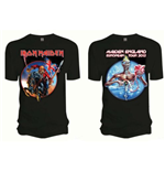 T-Shirt Iron Maiden Euro Tour