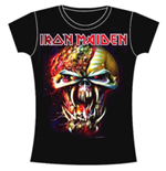 Iron Maiden T-Shirt für Frauen - Design: Final Frontier
