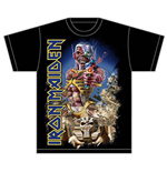 T-Shirt Iron Maiden Somewhere Back in Time