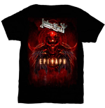 Judas Priest T-Shirt für Männer - Design: Epitaph Red Horns