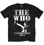 The Who  T-Shirt für Männer - Design: British Tour 1973