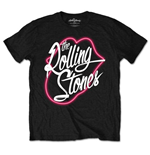 The Rolling Stones T-Shirt für Männer - Design: Neon Lips