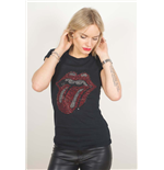 T-Shirt The Rolling Stones Classic Tongue für Frauen