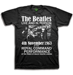 T-Shirt Beatles Live & in Person