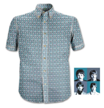 "T-Shirt Beatles ""1967"" Heads Pattern"