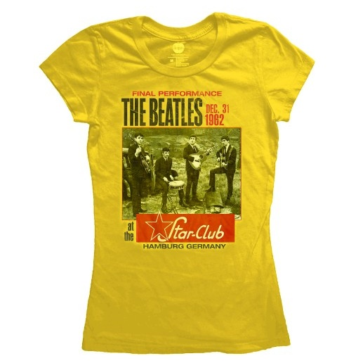The Beatles T-Shirt für Frauen - Design: Star Club, Hamburg