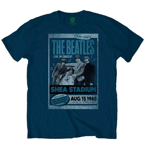 The Beatles T-Shirt für Männer - Design: Shea Stadium 1965