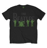 T-Shirt Beatles  Saville Row Lie Up with White Silhouettes