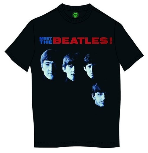 The Beatles T-Shirt für Männer - Design: Meet The Beatles