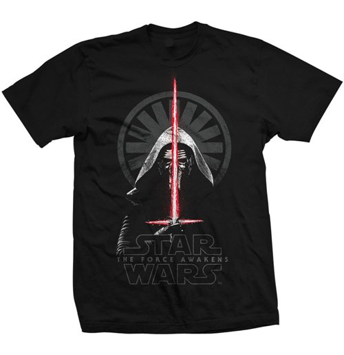 T-Shirt Star Wars Episode VII Kylo Ren Shadows