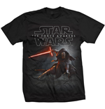 T-Shirt Star Wars Episode VII Kylo Ren Crouch