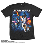 T-Shirt Star Wars Space Montage 2.