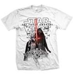 T-Shirt Star Wars Episode VII New Villains