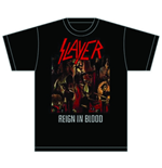 Slayer T-Shirt für Männer - Design: Reign in Blood