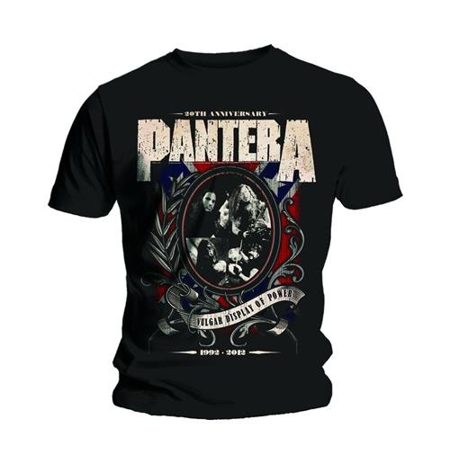 T-Shirt Pantera: Anniversary Shield