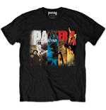 T-Shirt Pantera: Album Collage - Mann