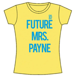 T-Shirt One Direction für Mädchen Future Mrs Payne