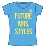 T-Shirt One Direction fur Frauen Future Mrs Styles