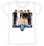 T-Shirt One Direction - ONE Ivy League Stripes