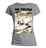T-Shirt One Direction für Frauen Band Sliced