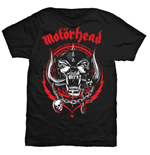T-Shirt Motorhead Lightning Wreath