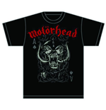 Motorhead T-Shirt für Männer - Design: Playing Card
