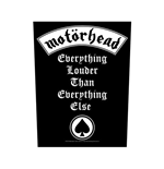 Motorhead Aufnäher - Design: Everything Louder