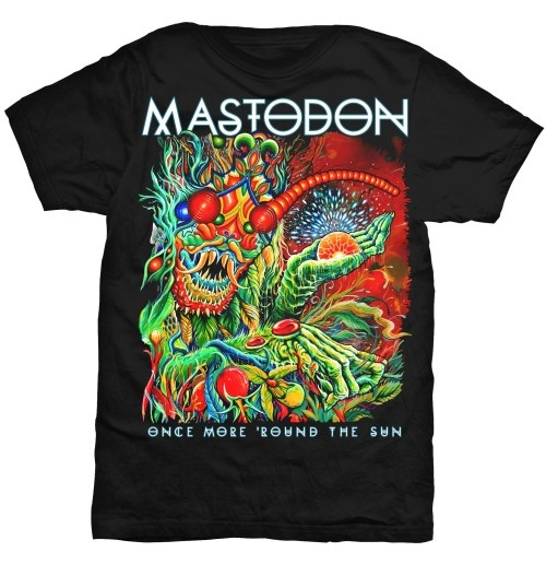"T-Shirt Mastodon Once More ""Round the Sun"""