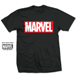 T-Shirt Marvel Superheros Marvel Box Logo