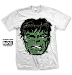 T-Shirt Comucs Hulk Big Head Distressed - Mann