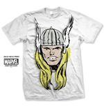 T-Shirt Thor Big Head Distressed