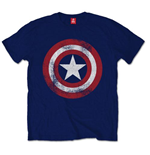 T-Shirt Captain America Distressed