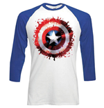 T-Shirt Captain America Splat