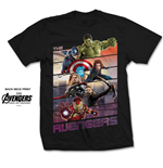 T-Shirt The Avengers Comics Abvengers Bars